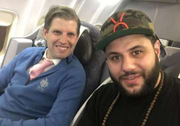 Eric Trump and Mohammed Amer - India TV