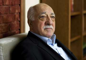 File pic of US Muslim cleric Fethullah Gulen -...