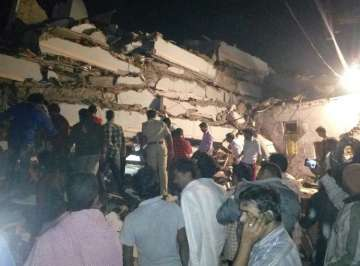 Hyderabad, multi-storey, building collapses