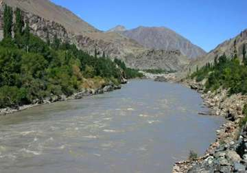 Indus River in the mountains of Ladakh - India TV