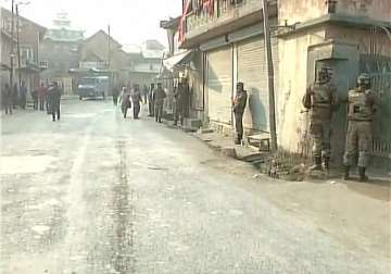 Terrorists attacked an army convoy in Pampore -...