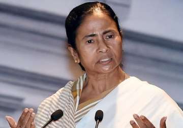 File pic of West Bengal Chief Minister Mamata...