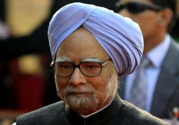 File pic of Former Prime Minister Manmohan Singh...