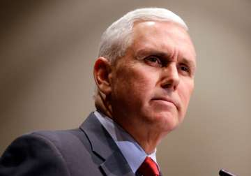 US Vice President-elect Mike Pence - India TV