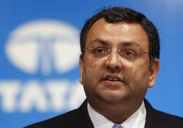File pic of Tata Sons ousted chairman Cyrus...