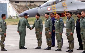 SC rules clean shave must for air force officers...