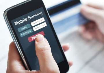 None of mobile banking and e-wallet apps in India...