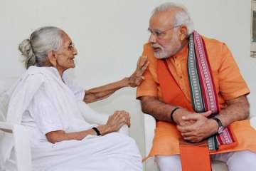 Narendra Modi, BJP, Gujarat, Mother