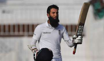 Moeen Ali's ton lifts England to 284/4 on Day 1...