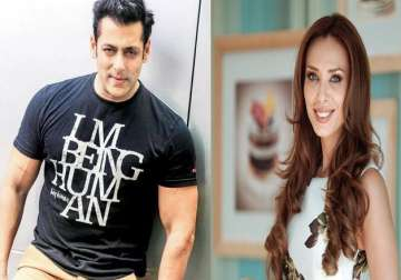Salman Khan, Iulia Vantur- India TV - India TV