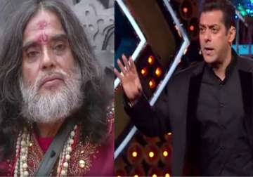 Salman loses cool on show after Om Swami's lewd...