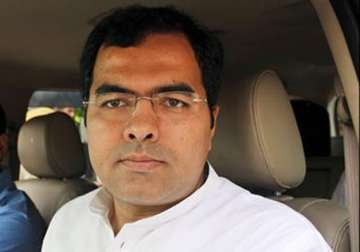 File pic - BJP MP from West Delhi Parvesh Verma ...