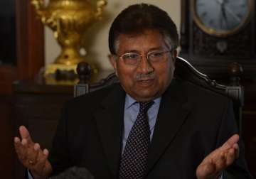 File pic of Pervez Musharraf - India TV