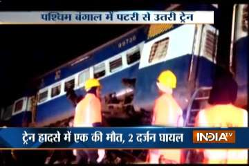 capital express derails in west bengal - India TV
