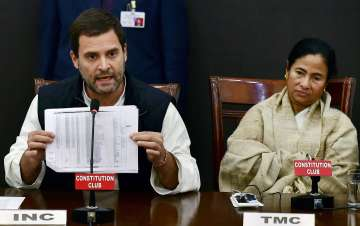 Rahul, Mamata launch double attack on PM at...