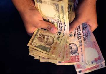 File pic - Old Rs 500 and Rs 1,000 notes - India...