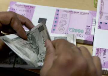 New Rs 2000 and Rs 500 notes were introduced by...