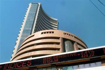 Sensex dips 329.26 points to close at 26,230.66....