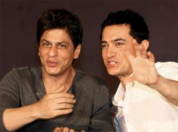Shah Rukh and Aamir