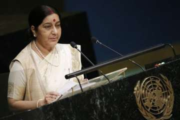 Hindi, United Nations, Government, Sushma Swaraj