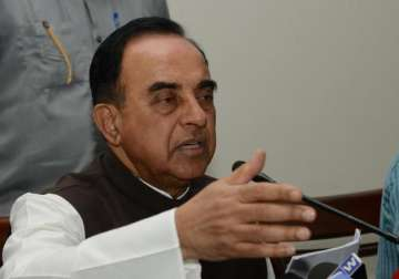 File pic - BJP leader Subramanian Swamy - India TV