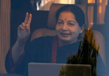 File pic of TN CM Jayalalithaa who passed away on...
