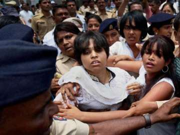 Trupti Desai and fellow activists barred from...