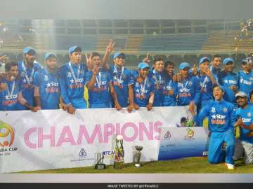 India, Sri Lanka, Rahul Dravid, Under-19 Cricket