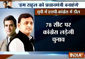 SP, Cong, RLD reach seat-sharing accord for 2017...