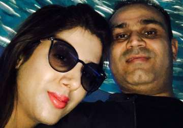 Sehwag had note ban in mind while wishing wife on...