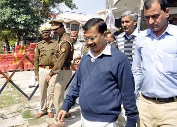 Shoe hurled at Arvind Kejriwal on New Year's Day...
