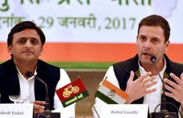 Akhilesh and Rahul say 'SP-Congress alliance...