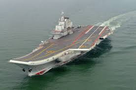 Chinese aircraft carrier Liaoning - India TV