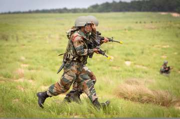 India and Pakistan exchange fire in J&K's Poonch...