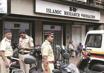 File pic - Police outside IRF office in Mumbai -...