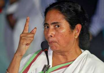 File pic - West Bengal Chief Minister Mamata...