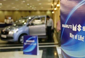 Car sales have gone up for Maruti Suzuki by 9-10...