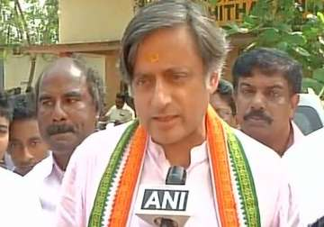 Shashi Tharoor, other Congress leaders detained...