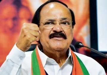 File pic - Venkaiah Naidu - India TV