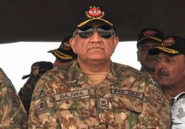 File pic of Pakistan's Army Chief General Qamar...