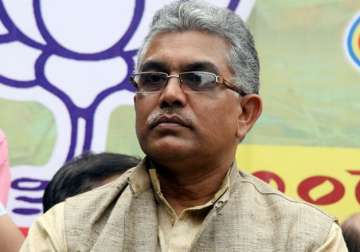 File pic - BJP's Bengal unit chief Dilip Ghosh...