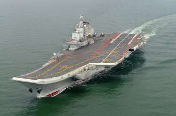 China's first carrier Liaoning
