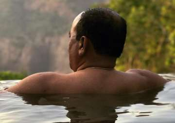 Post-poll relaxation: Goa CM's swimming pool pic...