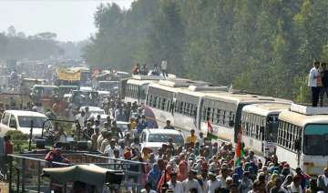 The Jat agitation completed 31 days on Tuesday -...