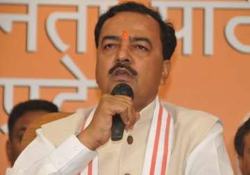 File pic - UP BJP chief Keshav Prasad Maurya -...
