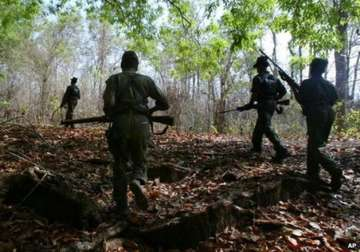 File pic - 7 security officials killed in Maoist...