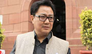 'Who's polluting her mind?': Kiren Rijiju...