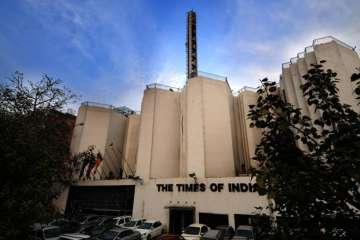 Times Of India, Fire, Building, Casuality