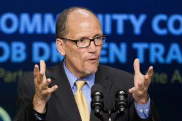 Tom Perez elected as the new chairman of the US...