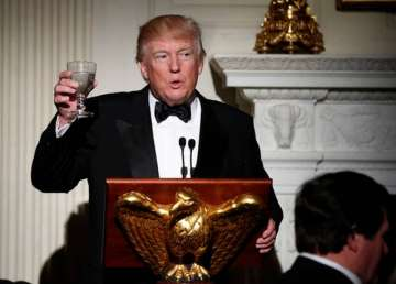 President Trump competes with Oscars with White...